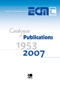 Catalogue of ECMT Publications.  Click to download