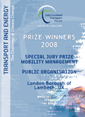 Special Jury Prize for Mobility Management in a Public Organisation.  Click to download